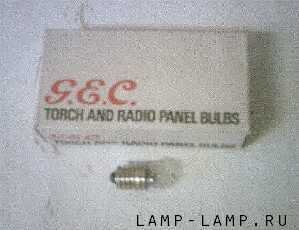 GEC Radio 6v Panel Bulbs