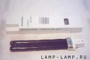 Sylvania 9 watt Lynx-S Blacklight PL lamp